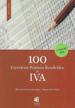 capa do livro 100 Exercicios Praticos Resolvidos de IVA