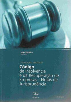 capa do livro Código de Insolvência e da Recuperação de Empresas