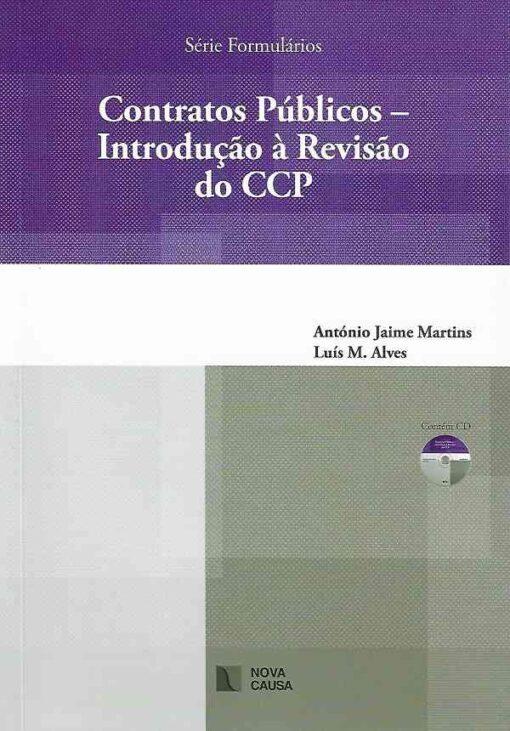 capa do livro Contratos Públicos - Introdução à Revisão do CCP