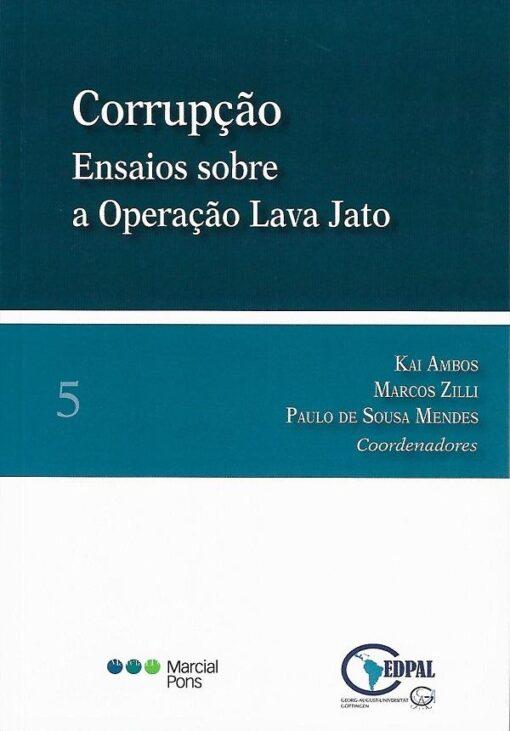 capa do livro Corrupção