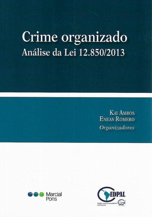 capa do livro Crime organizado