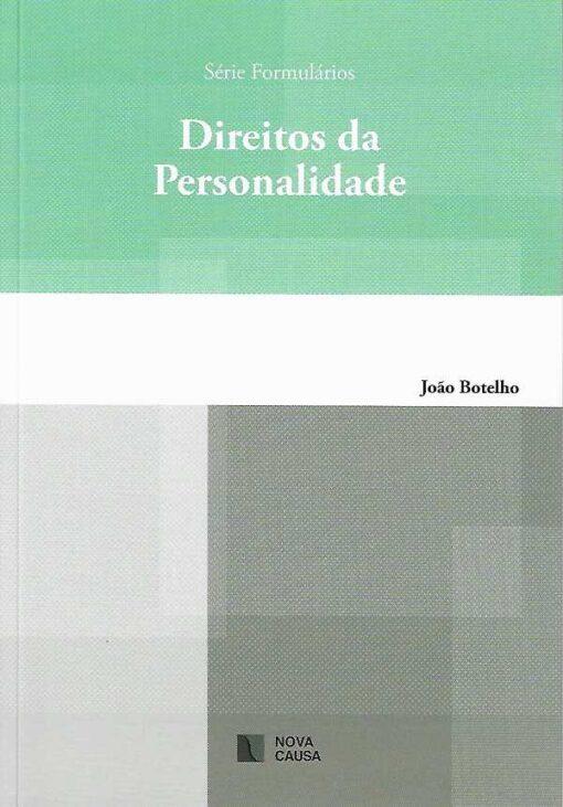 capa do livro Direitos da Personalidade