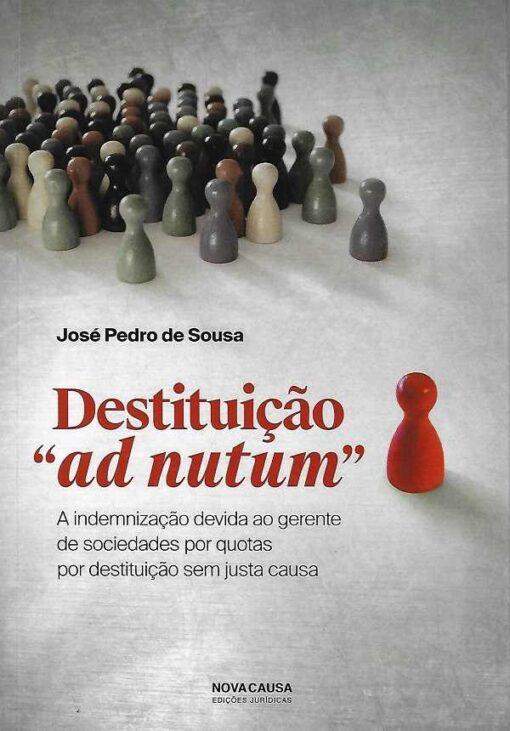capa do livro Distituição Ad Notum