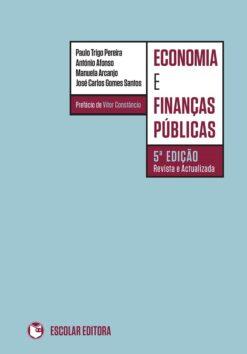 capa do livro Economia e finanças públicas