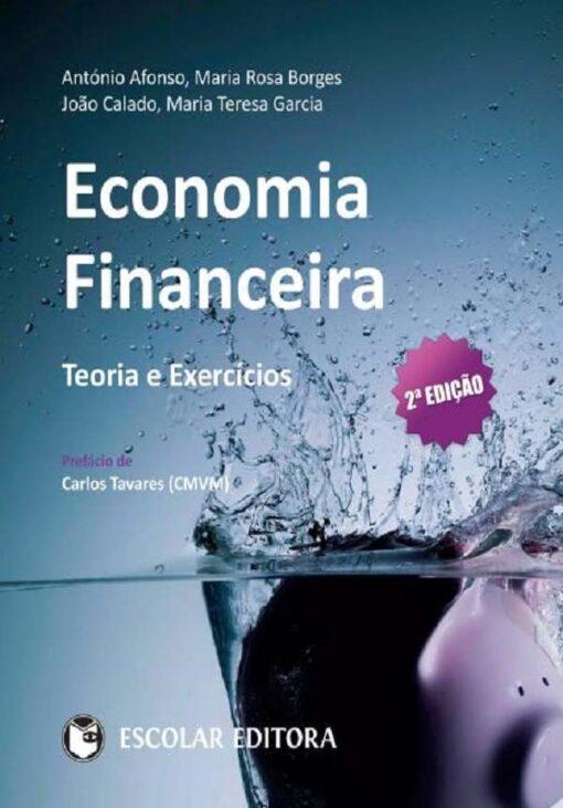 capa do livro Economia financeira
