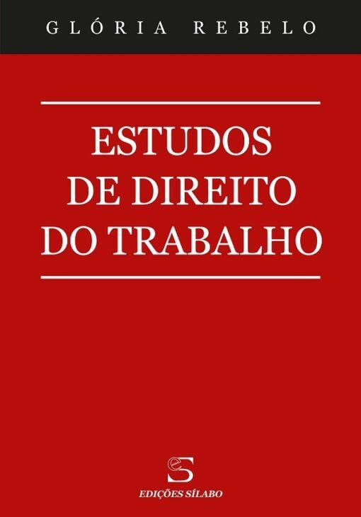 capa do livro Estudos de direito do trabalho