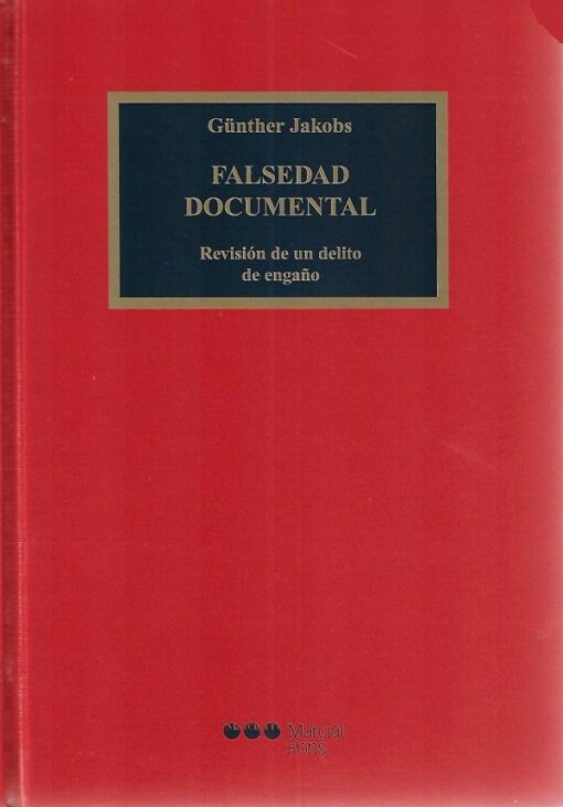 capa do livro Falsedad documental
