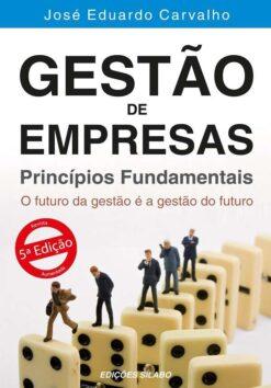 capa do livro Gestão de Empresas Princípios Fundamentais