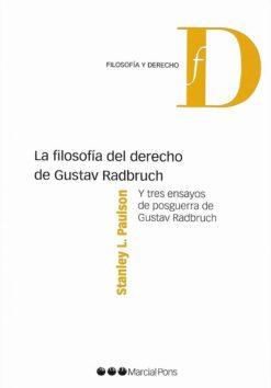 Capa do livro La filosofía del derecho de Gustav Radbruch