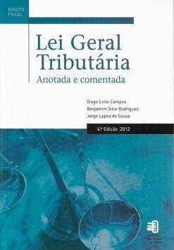 capa do livro Lei geral Tributária