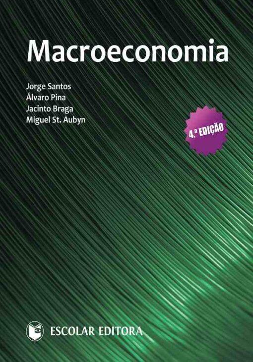 capa do livro Macroeconomia