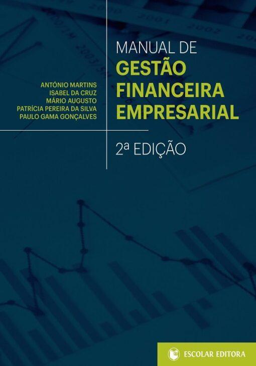 capa do livro Manual de Gestão Financeira Empresarial