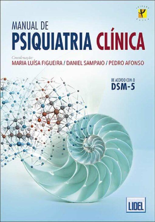 Capa do livro Manual de Psiquiatria Clínica