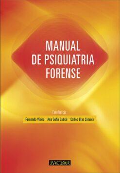 capa do livro Manual de Psiquiatria Forense