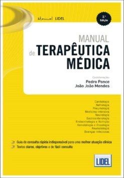 Capa do livro Manual de Terapêutica Médica