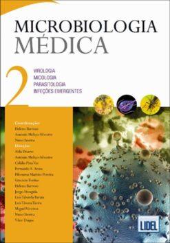 capa do livro Microbiologia Médica VOL 2