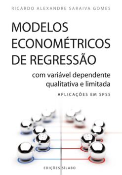 capa do livro Modelos Econométricos de Regressão com Variável Dependente Qualitativa e Limitada