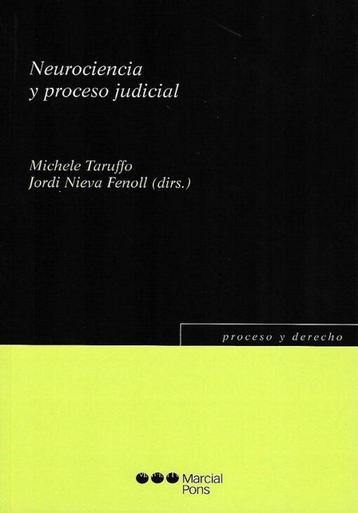 capa do livro Neurociencia y proceso judicial