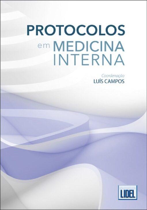 capa do livro Protocolos Medicina Interna
