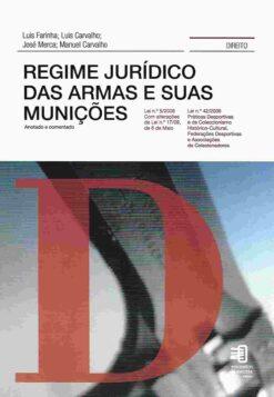 capa do livro Regime Jurídico da Armas e Suas Munições
