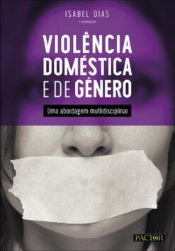 capa do livro Violência Doméstica e de Género