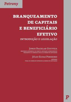 capa do livro branqueamento de capitais e beneficiário efetivo