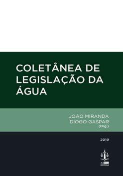 capa do livro coletânea de Legislação da Água