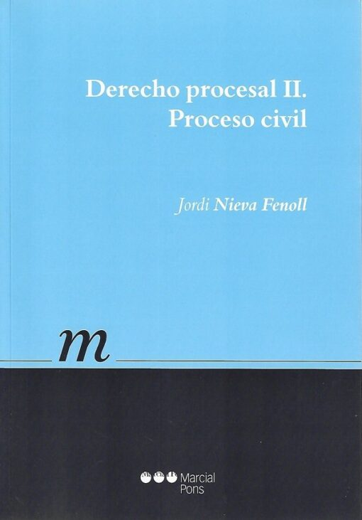 capa do livro derecho procesal II