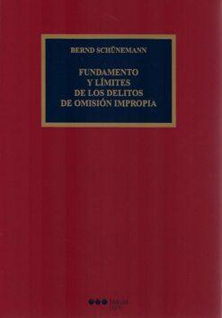 capa do livro fundamento y límites de los delitos de omisión impropia