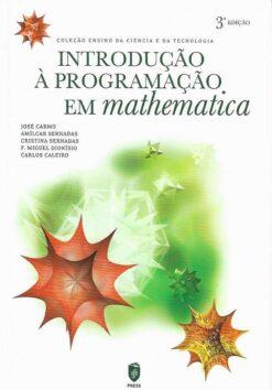 Capa do livro introdução à programação em mathematica 1