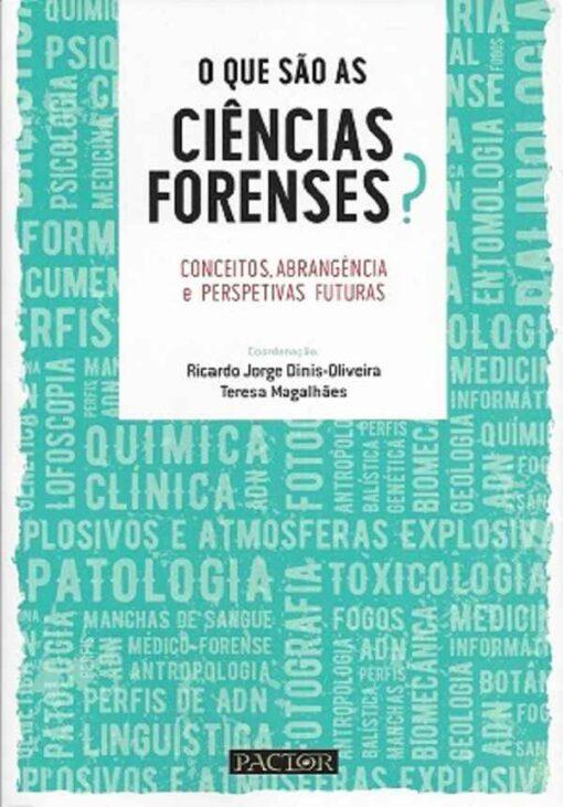 capa do livro o que são ciencias forenses