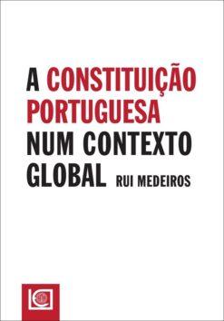 capa do livro A Constituicao Portuguesa num Contexto Global