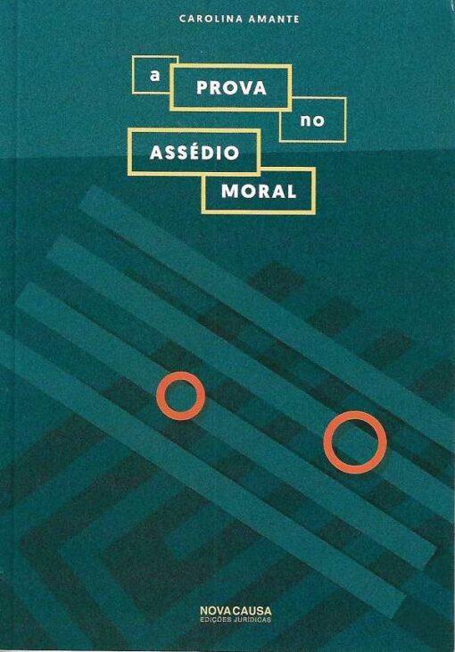 capa do livro A Prova no Assédio Moral