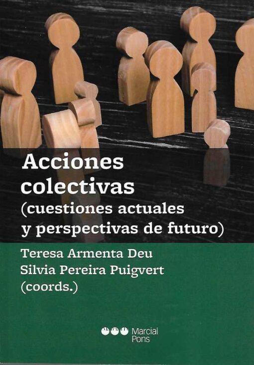 capa do livro Acciones colectivas