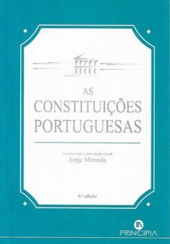 capa do livro As Constituições Portuguesas
