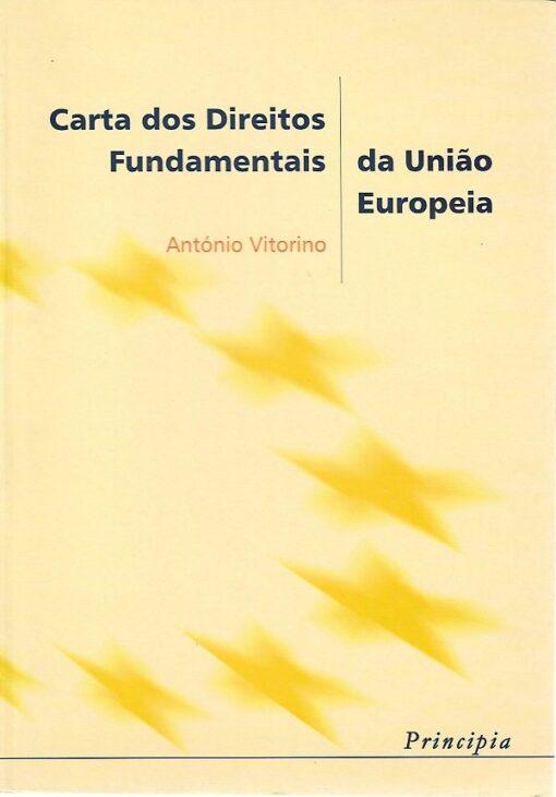 capa do Livro Carta dos Direitos Fundamentais da União Europeia