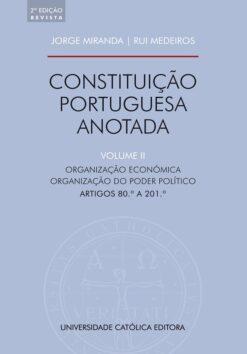 capa do livro Constituição Portuguesa Anotada Vol II