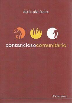 capa do livro Contencioso comunitário