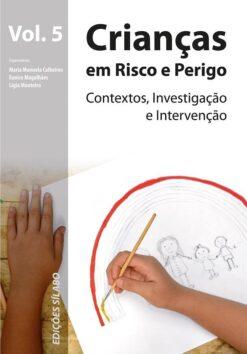 capa do livro Crianças em risco e Perigo