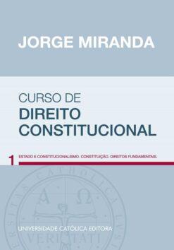 capa do livro Curso de Direito Constitucional vol 1