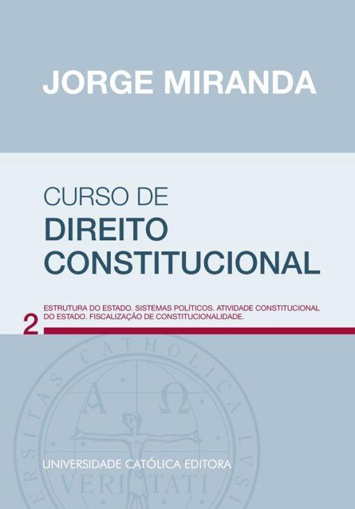 capa do livro Curso de Direito Constitucional vol 2