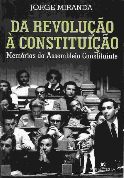 capa do livro Da Revolução à Constituição