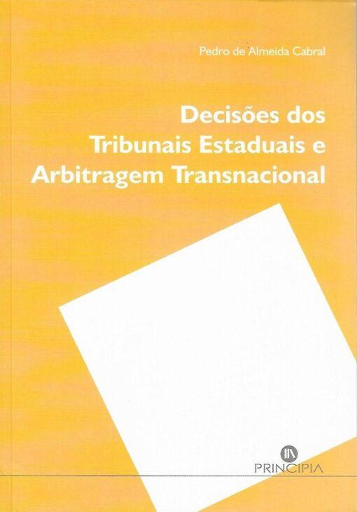 capa do livro Decisões dos tribunais estaduais e arbitragem transnacional