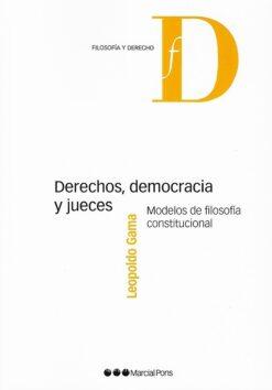 capa do livro Derechos, democracia y jueces