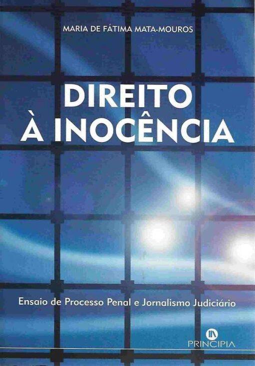 capa do livro Direito à Inocência