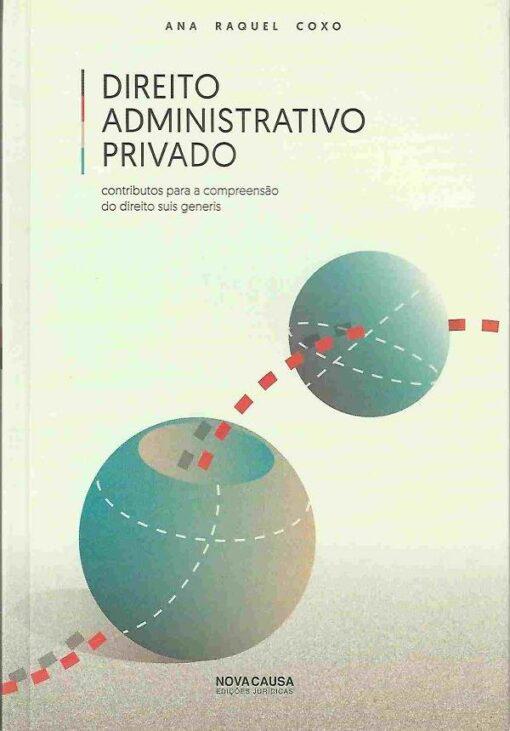 capa do livro Direito Administrativo Privado