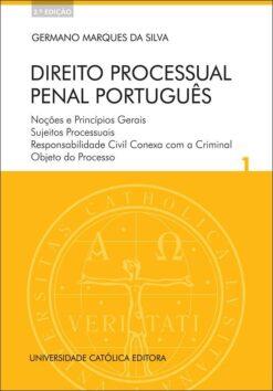 capa do livro Direito Processual Penal Português - Volume I 2ed