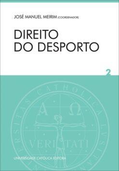 capa do livro Direito do Desporto Vol 2