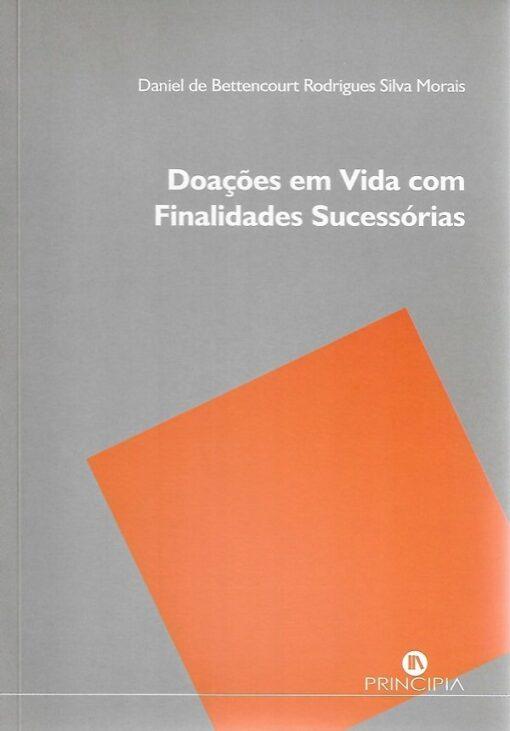 capa do livro Doações em vida com finalidades sucessórias