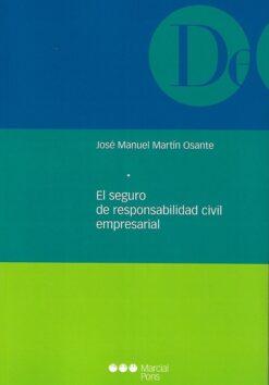 capa do livro El seguro de responsabilidad civil empresarial